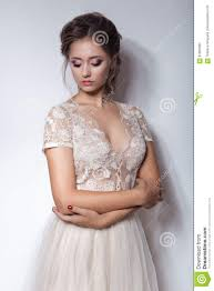 beautiful cute sweet with a beautiful bride with bright