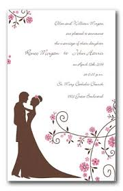 wedding card from groom to and groom wedding invitations the wedding specialiststhe