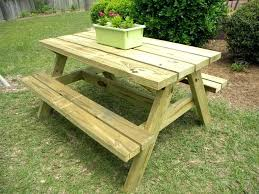 picnic table rentals wooden picnic tables 8 heavy duty all wood picnic table wood
