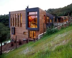 hillside garage plans hillside walkout house plans houzz