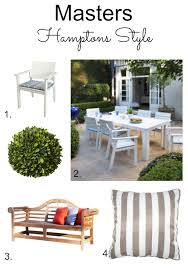 Hamptons Style Outdoor Furniture by Masters Hamptons Style Makeover Diy Decorator