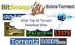 top 10 torrent sites 2016 to free download full movie