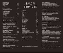 hair salons jc penny price list john andrews salon services pinteres