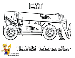 construction equipment coloring pages chuckbutt com