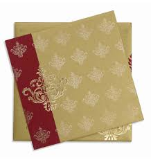 Card Inserts For Invitations Indian Wedding Card With Motifs U0026 Multicolor Inserts