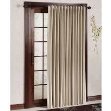 Stupendous Decorative Traverse Curtain Rods by Patio Doors Wayfair Basics Blackout Grommet Patiooor Single