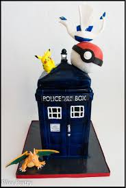 Tardis Halloween Stencil by Dr Who Tardis Pokemon Mash Up Cakecentral Com