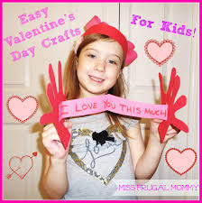 easy valentine u0027s day crafts for kids u2013 miss frugal mommy