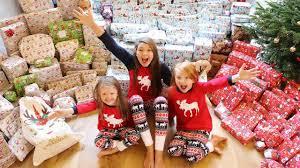 family christmas christmas morning opening presents mega shock reaction vlogmas
