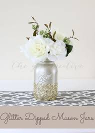 Mason Jar Vases For Wedding Cool U0026 Easy Ideas For Creating Diy Mason Jars Vases