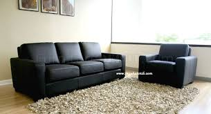 Modern Leather Living Room Set Modern Black Leather Living Room Set
