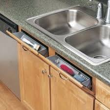 Under Kitchen Sink Cabinet How To Turn Your Kitchen Sink U0027s False Drawer Into A Functional