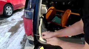 2000 chevy silverado tail light assembly how to remove and replace tail light assembly chevrolet blazer youtube