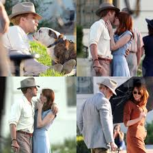 ryan gosling emma stone couple film emma stone and ryan gosling reignite their onscreen romance on the