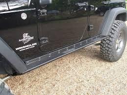 jeep rock sliders rock 4x4 8482 patriot series boat side rock sliders w