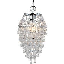 acclaim lighting lily 3 light indoor polished nickel mini