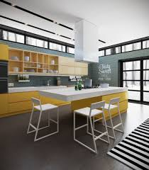 Yellow Kitchen Cabinet by Kitchen Alno Kitchen Features Light Wooden Kitchen Cabinet With