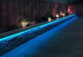 Rgb Landscape Lights Rgb Led Landscaping Lights Contemporary Landscape