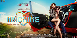 machine movie review abbas mustan try to pass off an old wine in