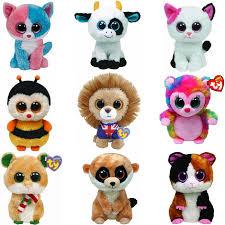 buy ty beanie boos plush toy doll rabbit dog monkey elephant