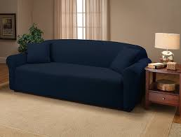 navy blue sofa slipcover best home furniture decoration
