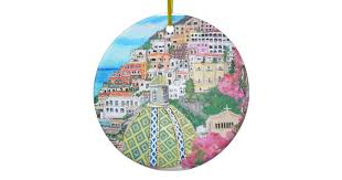 positano italy ornament zazzle
