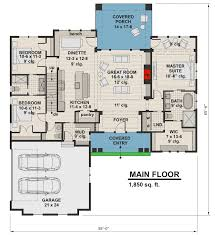 craftsman homes floor plans plan 14656rk highly detailed craftsman home plan with bonus suite