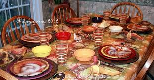 thanksgiving table settings for the our matter