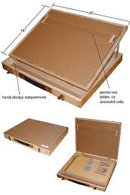 Drafting Table Blueprints Portable Drawing Board Desk Pesquisa Wood For
