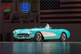 corvette restomod stunning 1957 chevy corvette restomod at barrett jackson in january