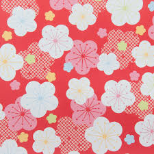 flower wrapping paper flower japanese gift wrap