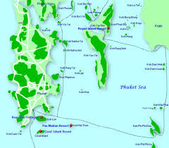 Thailand Map In World Map by Map Phang Nga Islands Thailand Pinterest