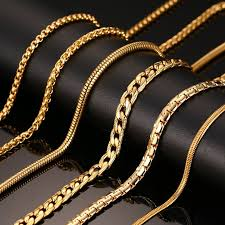gold necklace wholesale images 24inch gold plated chain necklace long stainless steel metal snake jpg