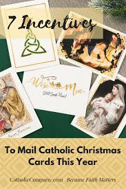 7 incentives to mail catholic christmas cards this year