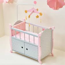 Baby Sleeper In Bed Nursery Bitty Baby Crib American Doll Bitty Baby Clothes