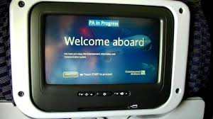 hd inside continental airlines 757 200 coach united economy cabin