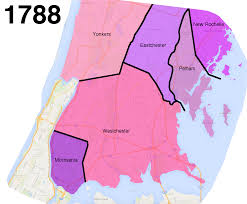 New York State Map With Cities And Towns by How The Bronx U0027s Uneven Border With Westchester Came To Be Curbed Ny