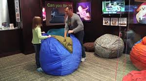 Bean Bag That Turns Into A Bed Cordaroy U0027s Bean Bag Chair Video From Mall Of America Youtube