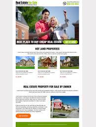 best real estate for sale landing page design real estate