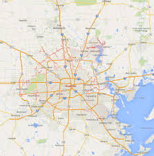 Map Houston Airport Houston Map Indiana Map