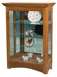 Oak Curio Cabinets Curio Cabinet Best Curio Cabinets Images On Pinterest Amish Oak