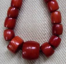 large red bead necklace images Himalayan jewelry coral necklace tibet potalaworld jpg