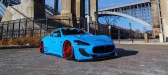 blue maserati dub magazine autosport u0027s widebody maserati
