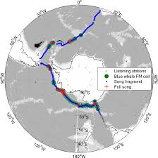 Listening Map Mapping Antarctic Blue Whale Hotspots U2014 Australian Antarctic Division