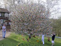 german easter egg tree don t tell the easter bunny german decorate garden tree with