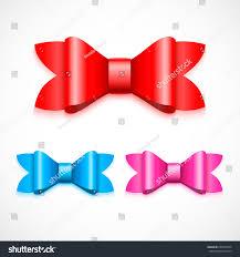chagne satin ribbon bow satin ribbon possible change color stock vector 639560254