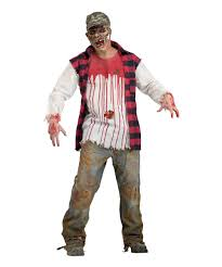 Zombie Hunter Halloween Costume Redneck Zombie Mens Costume Men Costume