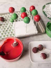 christmas spice red velvet cake pops recipe discover