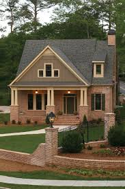 craftsman style ranch homes brick craftsman house homepeek