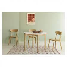 Habitat Dining Table Suki 2 4 Seat White Folding Dining Table Dining